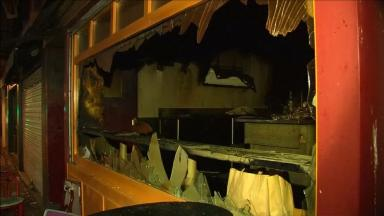 A fire broke out at the bar in Rouen