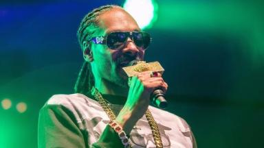 Snoop Dogg was performing at the time of the incident.