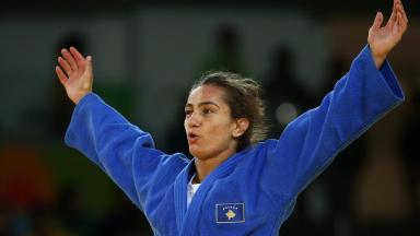 Majlinda Kelmendi has won Kosovo's first ever Olympic medal.