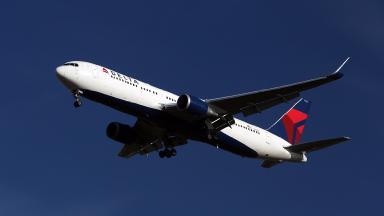 A file photo of a Delta plane.