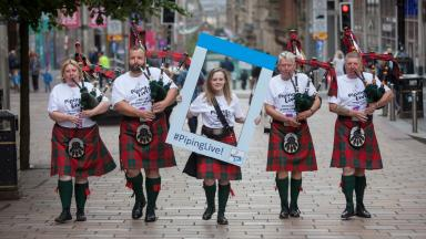 Bagpipes: More than 200 events will take place at Piping Live!