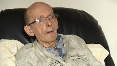 Alexander Withnell: The 78-year-old was 'stressed out all week'.