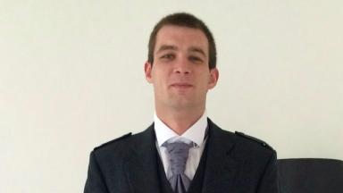 Calum McMorrin: The 24-year-old was pronounced dead at the scene.