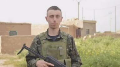Dean Carl Evans was killed fighting Islamic State forces in Syria in July.