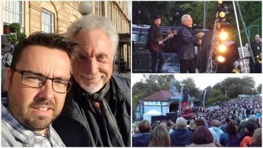 Tom Jones: Glasgow euphoric as 60s legend takes to the stage.