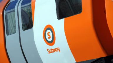 Subway: Glasgow's underground system reopened on Wednesday.