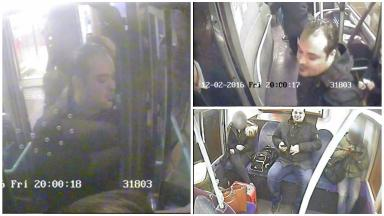 CCTV: Images show the man police want to speak to.