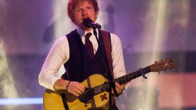Ed Sheeran's Thinking Out Loud won song of the year at the 2016 Grammy Awards.
