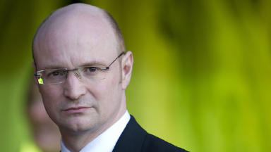 Stephen Thompson is on the SPL board which would vote if Rangers wanted to re-join as a newco.