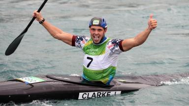British kayaker Joe Clarke