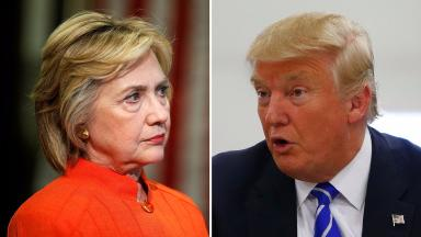 Ms Clinton accused Mr Trump over his comments