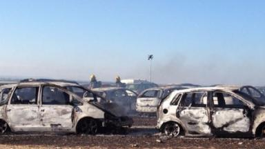 80 cars burnt out after fire at Boomtown music festival