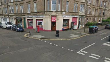 Newsagent: Tahir Ahmed was left with serious head injuries.