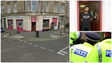 Attack: Tahir Ahmed was stabbed.