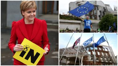 Nicola Sturgeon,EU,Scotland,Collage,Quality News Image,Uploaded August 14 2016