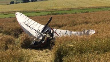 News Now: microlight plane crash