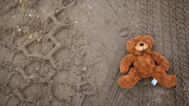 A file picture of a teddy bear.