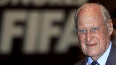 Joao Havelange was in charge at Fifa for over 20 years.