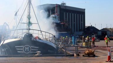 News Now: Trawler fire
