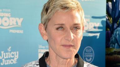 Chat show host Ellen Degeneres
