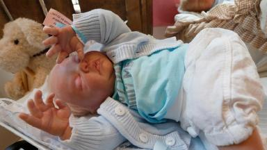 An example of a reborn doll, which can sell for thousands of pounds
