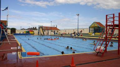 Stonehaven pool: Man accused of indecent exposures (file pic).