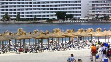 The shooting took place in Costa de la Calma, near the popular resort of Santa Ponsa.