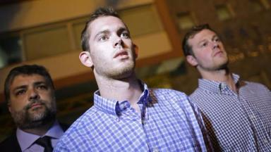 Gunnar Bentz and Jack Conger were allowed to return home on Thursday