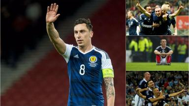 The ups and downs of 11 years representing Scotland.