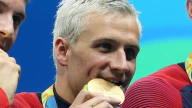 Ryan Lochte apologised for taking the focus away from athletes 'fulfilling their dreams' at the Olympics.