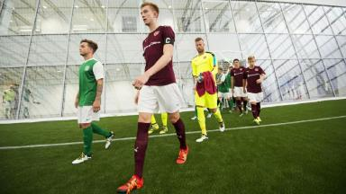 Indoor SPFL match marks Oriam opening