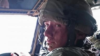 Private McPherson: The 24-year-old was shot in the head during training exercise.