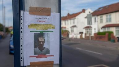 Nick Hopton put posters up in every bus stop in Horfield to track Freya down.