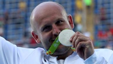 Piotr Malachowski won the silver medal at the Rio Olympics