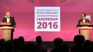 Debate: Jeremy Corbyn and Owen Smith appealed to Labour members for their votes.
