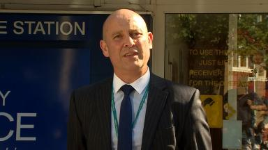 Detective Superintendent Chris Edwards of Surrey Police.