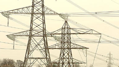 Electricity: Old pylons being removed ahead of new line.