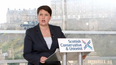 Davidson to SNP: Abandon summer independence drive.