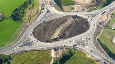 Aberdeen bypass: First section of AWPR project opens to traffic.