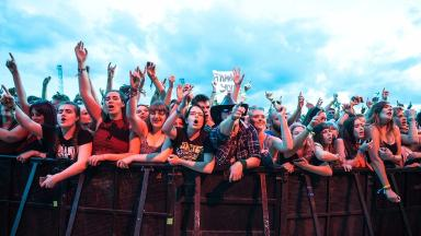 Police have warned festival-goers about the dangers of taking illegal drugs.