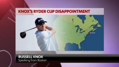 Russell Knox on his Ryder Cup disappointment
