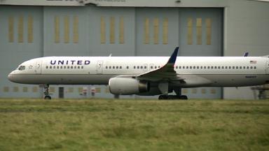 Plane: United Airlines in emergency landing.