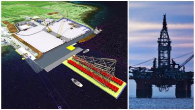 Decommissioning: An artist's impression of how the facility would look.