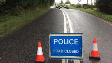 Crash: The A6094 has been closed between Howgate and Rosewell.