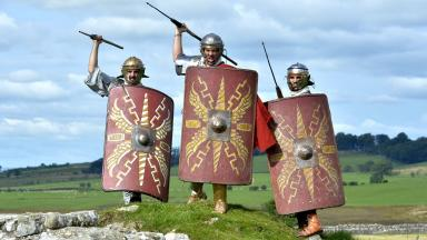 Roman army: Search for ancient artefacts (file pic).