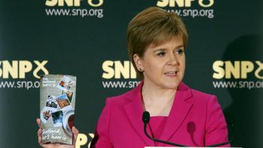 Sturgeon: Time for a new national debate on independence
