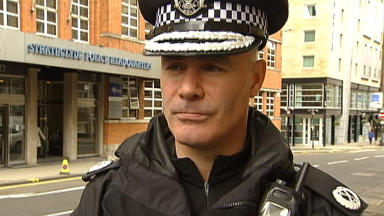 Warning: Assistant Chief Constable Bernard Higgins of Strathclyde Police.