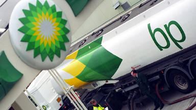 Raid: BP garage worker chased away armed robber (file pic).