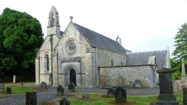 Abercorn Church: Site of the thefts of two 'high-value' bibles.
