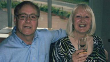 Midlothian crash: Victims named as Charles Howden and Fiona Stanley.